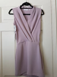 BNWT Aritzia Babaton Phoenix Dress in Quarry size 00 MISSISSAUGA