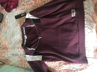 maroon and white Adidas track pants Louisville, 40258