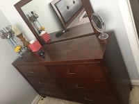 Dresser with mirror  Stafford, 22556