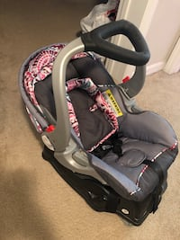 Infant car seat with base. Used once. Price is negotiable!  Greensboro, 27405