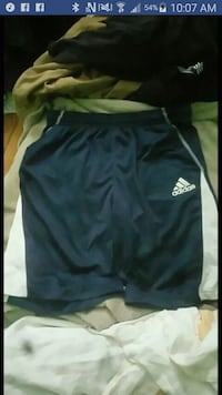Dark blue  and white Adidas shorts  Winnipeg, R2H 1B3