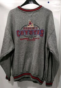 Logo Athletic Phoenix Coyotes Sweater Sz XL