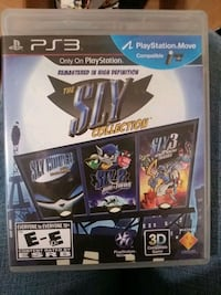 Sly Cooper 3 pack for ps3, like new