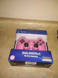 Pink PS3 wireless controller Fresno, 93726