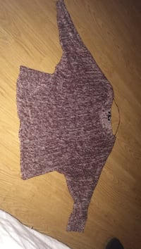 Pull Bordeaux Ét blanc taille XS neuf 6042 km