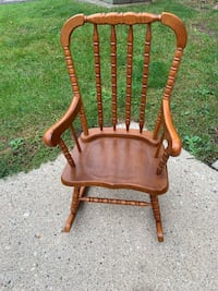 Kids wood Rocking chair