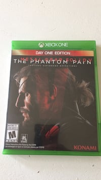 Xbox one the phantom pain day one edition  Bowmanville, L1C 2H5