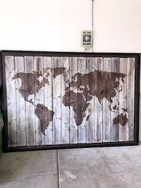 Map of the world! Very nice piece  Henderson, 89012