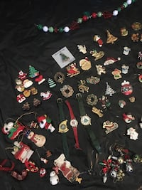 Vintage -now Christmas Jewelry and Accessories lot