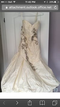 Ines DiSanto gown Vaughan, L4H 1M1