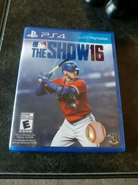 MLB the show PS4 game  2672 km