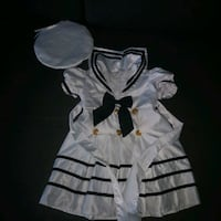 Nautical theme/sailor dress- 2T Burnaby, V5H 3C9