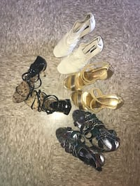 Four pairs of women's high heels Inwood, 25428