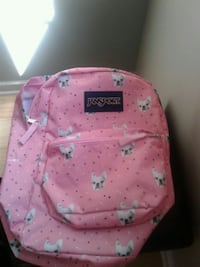 pink and white Jansport backpack Crownsville, 21032