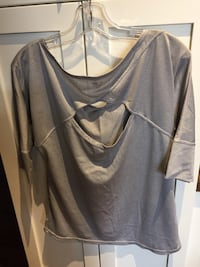 Top size small open back design London, N6B