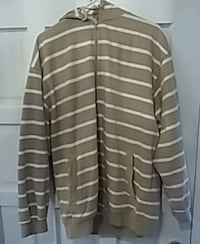 gray and white striped long-sleeved shirt Apopka, 32712