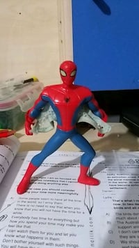 The Amazing Spider-man Burger King Action Figure