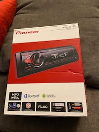 Pioneer head unit Bluetooth car stereo
