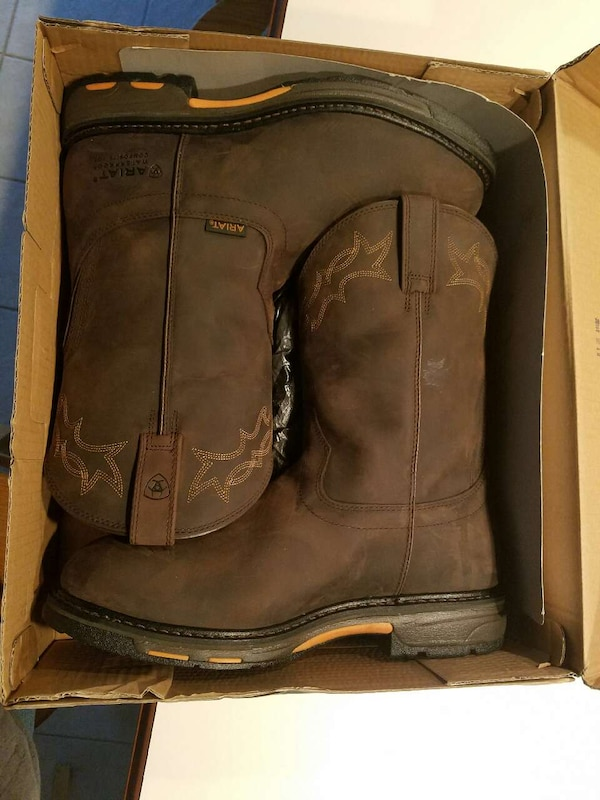 4090891142e64 Used Ariat Work Hog Waterproof Work Boots for sale in Evansville - letgo