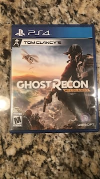 Ghost Recon Wildlands PS4 game case Louisville, 40241