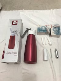 Cream Whipper and Cartridges