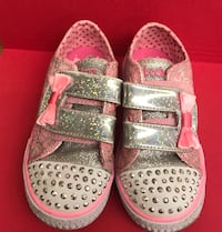 Girls sneakers light up size 9 child size Holbrook, 11779