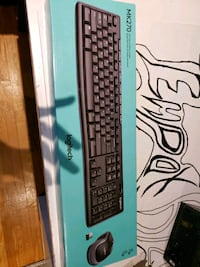 Mk270 full size wireless keyboard and mouse combo  Mississauga, L4T 2K1