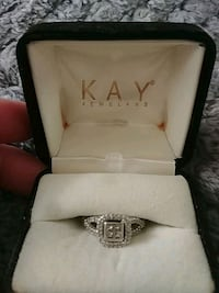 silver Kay Jewelers ring with box Fresno, 93720