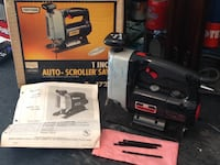 "Craftsman 1"" auto-scroller saw"