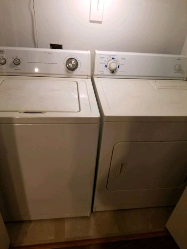 Stove, Refrigerator, washer and Dryer. 3262439b-8eae-4d9f-93fb-895b7b3d4c79