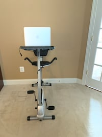 Exercise bike with laptop desk Fairfax, 22030