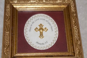 """Framed Art """"Trust in the Lord"""""""
