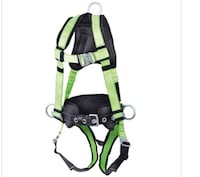 Green and black safety harness St Catharines