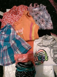 2 dresses, 3 skirts, 3 shirts and 3 underwear Stansbury Park, 84074