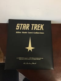 22k Star Trek Cards Complete Set Lanham, 20706