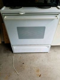 Used electric oven with stovetop Webster, 14580