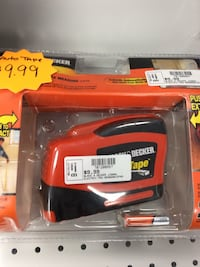 black and red Black & Decker hand tool
