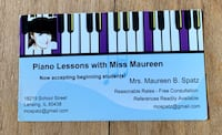 Piano lessons Lansing, 60438