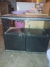Black Ikea tv stand. Swivels. Rancho Cordova, 95670