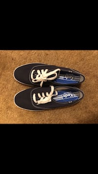 Keds® Champion Canvas Lace-Up Sneakers 7.5 Manassas, 20109