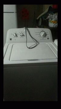 GE electric dryer and Kenmore washer in excellent working condition.