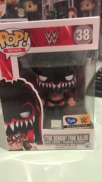 WWE Finn Balor FYE Exclusive Pop Funko Bolton, L7E 2M3