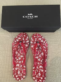 Coach Flip Flops-New In Box  Size 9/10 Huntersville, 28078