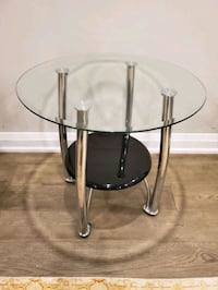 Glass side table  Vaughan, L4H