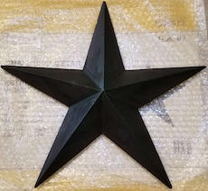 Star Wall / House Decoration - Green - 15.7""