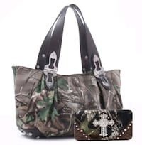 Womens camo purse and wallet  Lucedale, 39452