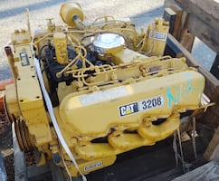 Caterpillar 3208 Non-Turbo Diesel Long Block Engine