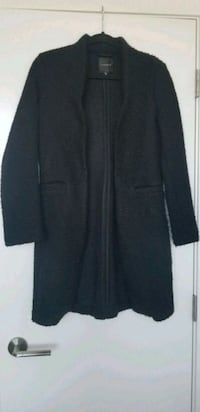 New XS Dynamite Black Wool Coat Vancouver, V5R 4P9