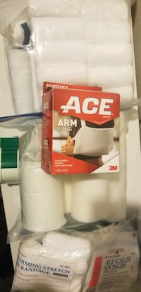 Assorted First Aid Kit Supplies - BEST OFFER Anchorage, 99507