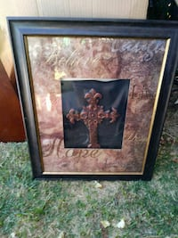 black wooden framed painting of woman West Sacramento, 95691